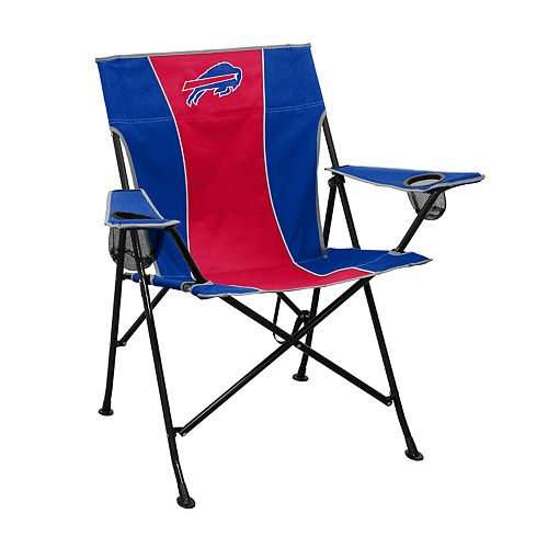 Logo Brands Buffalo Bills Game Time Portable Folding Chair