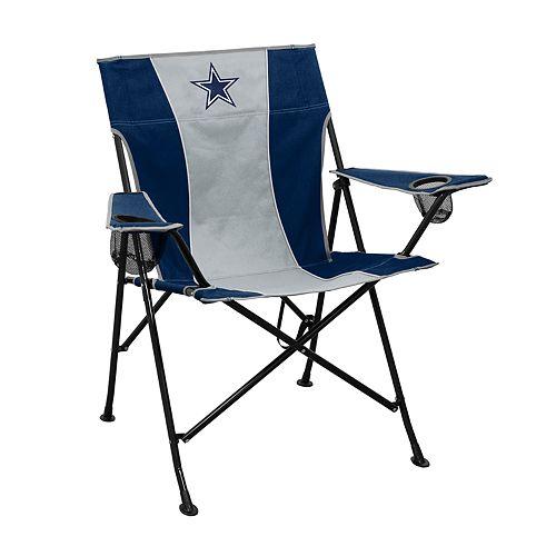 Logo Brands Dallas Cowboys Game Time Portable Folding Chair
