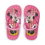 Disney's Minnie Mouse Toddler Girl Flip Flops