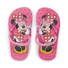 5b749ea175eb Disney s Minnie Mouse Toddler Girl Flip Flops