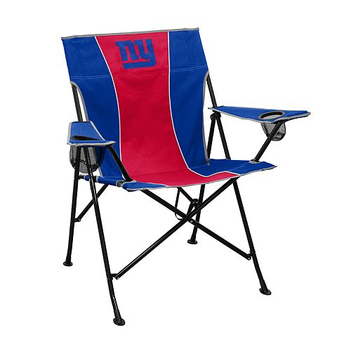 Logo Brands New York Giants Game Time Portable Folding Chair