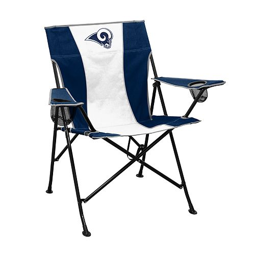 Magnificent Logo Brands Los Angeles Rams Game Time Portable Folding Machost Co Dining Chair Design Ideas Machostcouk