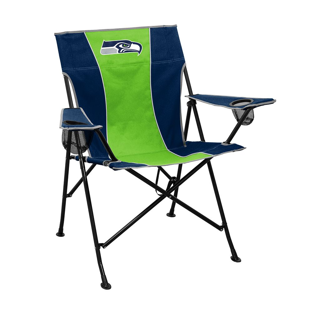 Logo Brands Seattle Seahawks Game Time Portable Folding Chair