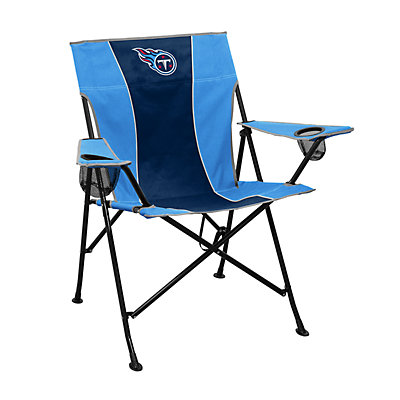 Logo Brands Tennessee Titans Game Time Portable Folding Chair