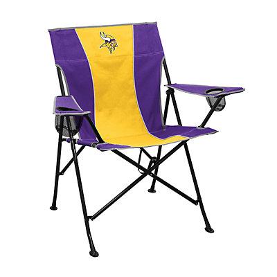 Logo Brands Minnesota Vikings Game Time Portable Folding Chair