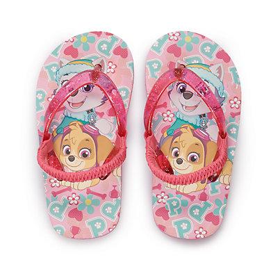 Toddler Girl Paw Patrol Flip Flops