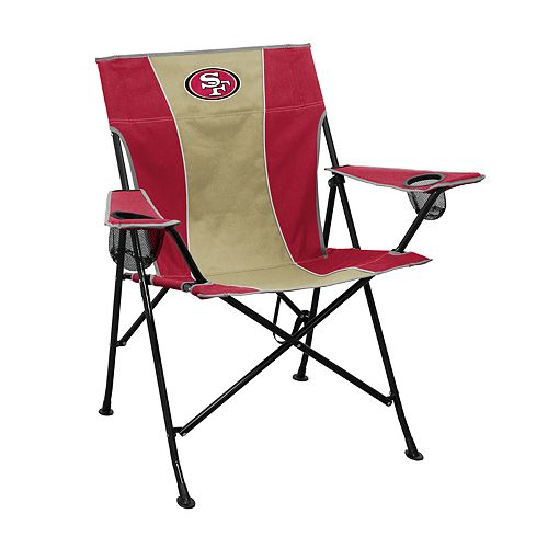 Logo Brands San Francisco 49ers Game Time Portable Folding Chair