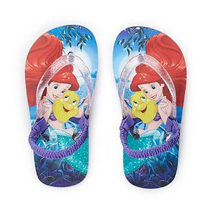 ee0fbff04 Sale.  9.80. Original.  14.00. Disney s The Little Mermaid Ariel Toddler Girl  Flip Flops