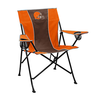Logo Brands Cleveland Browns Game Time Portable Folding Chair