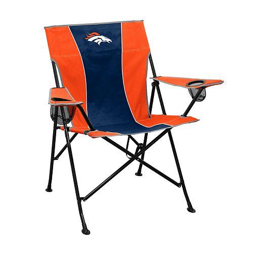 Logo Brands Denver Broncos Game Time Portable Folding Chair