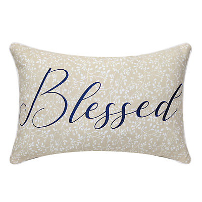 Blessed Decorative Pillow