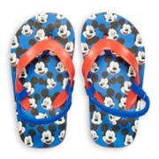 Disney's Mickey Mouse Toddler Boy Flip Flops