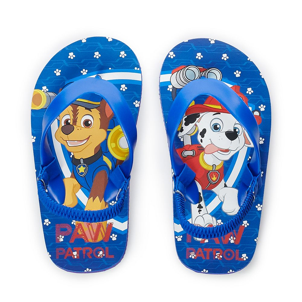 Toddler Boy Paw Patrol Flip Flops