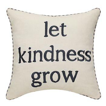 Let Kindness Grow Pillow