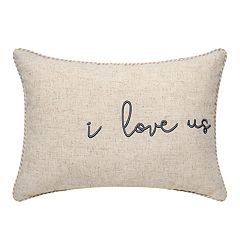 I Love Us Decorative Pillow