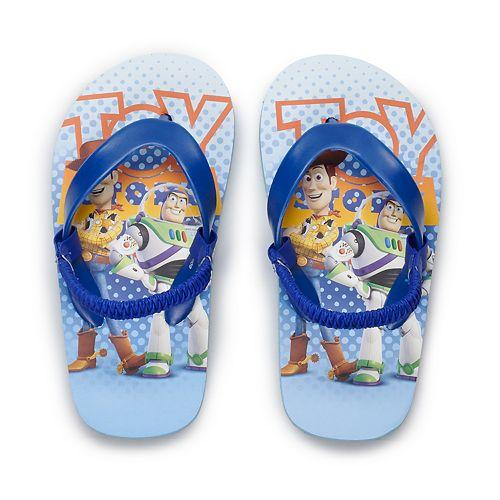 Disney / Pixar Toy Story Toddler Boy Flip Flops