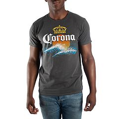 Big & Tall Corona Beer Graphic Tee
