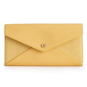 LC Lauren Conrad Envelope Wallet