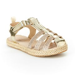 OshKosh B'gosh® Ashby Toddler Girls' Espadrille Sandals