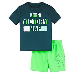 175559f0a11fb Baby Boy Under Armour 'Victory Nap' Graphic Tee & Shorts Set