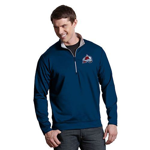 Men's Antigua Colorado Avalanche Leader Pullover
