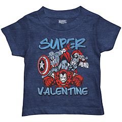 Toddler Boy Marvel Avengers 'Super Valentine' Graphic Tee