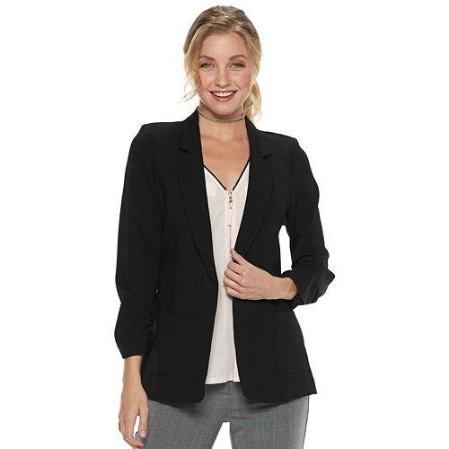 Juniors' Candie's® Ponte Jacket