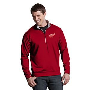Men's Antigua Detroit Red Wings Leader Pullover