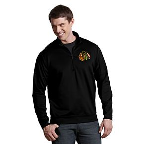 Men's Antigua Chicago Blackhawks Leader Pullover