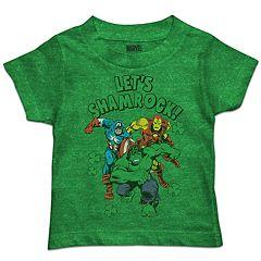 Toddler Boy Marvel 'Let's Shamrock!' Graphic Tee