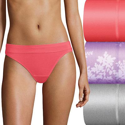 Bali Incredibly Soft 3-Pack Bikini Panty DFSBK3