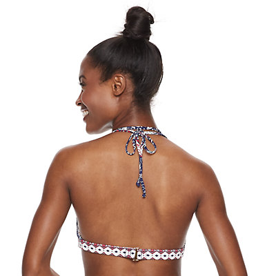 Women's Apt. 9® Double Strap Halter Bikini Top