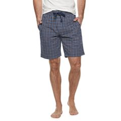Men's Van Heusen Patterned Jersey Knit Sleep Shorts