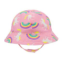 Baby Girl Unicorn   Rainbows Sun Hat 85a06271f2c