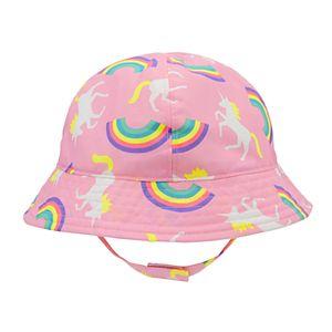 8b01b9571eda40 Baby / Toddler Girl Goldbug Unicorn Bucket Hat