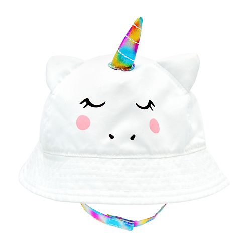 Baby Girl Unicorn Sun Hat