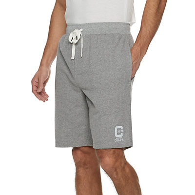 Men's Chaps French Terry Knit Sleep Shorts