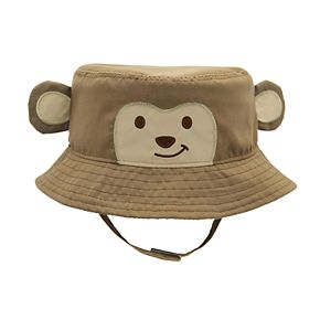 Baby Boy Monkey Sun Hat