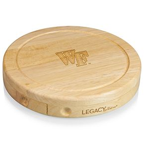 Wake Forest Demon Deacons Brie Cheese Cutting Board Set