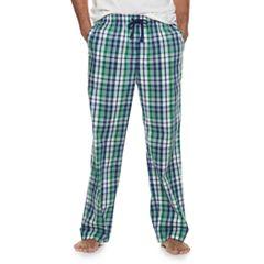 Men s Croft   Barrow® Plaid Stretch Woven Sleep Pants 5e3b4a63c