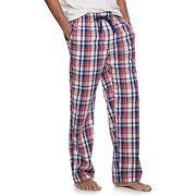 Men's Croft & Barrow® Plaid Stretch Woven Pajama Pants