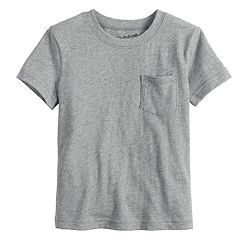 Toddler Boy Jumping Beans® Solid Pocket Tee