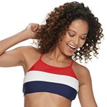 Mix and Match Colorblock Bikini Top