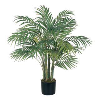 nearly natural 3-ft. Silk Areca Palm Tree