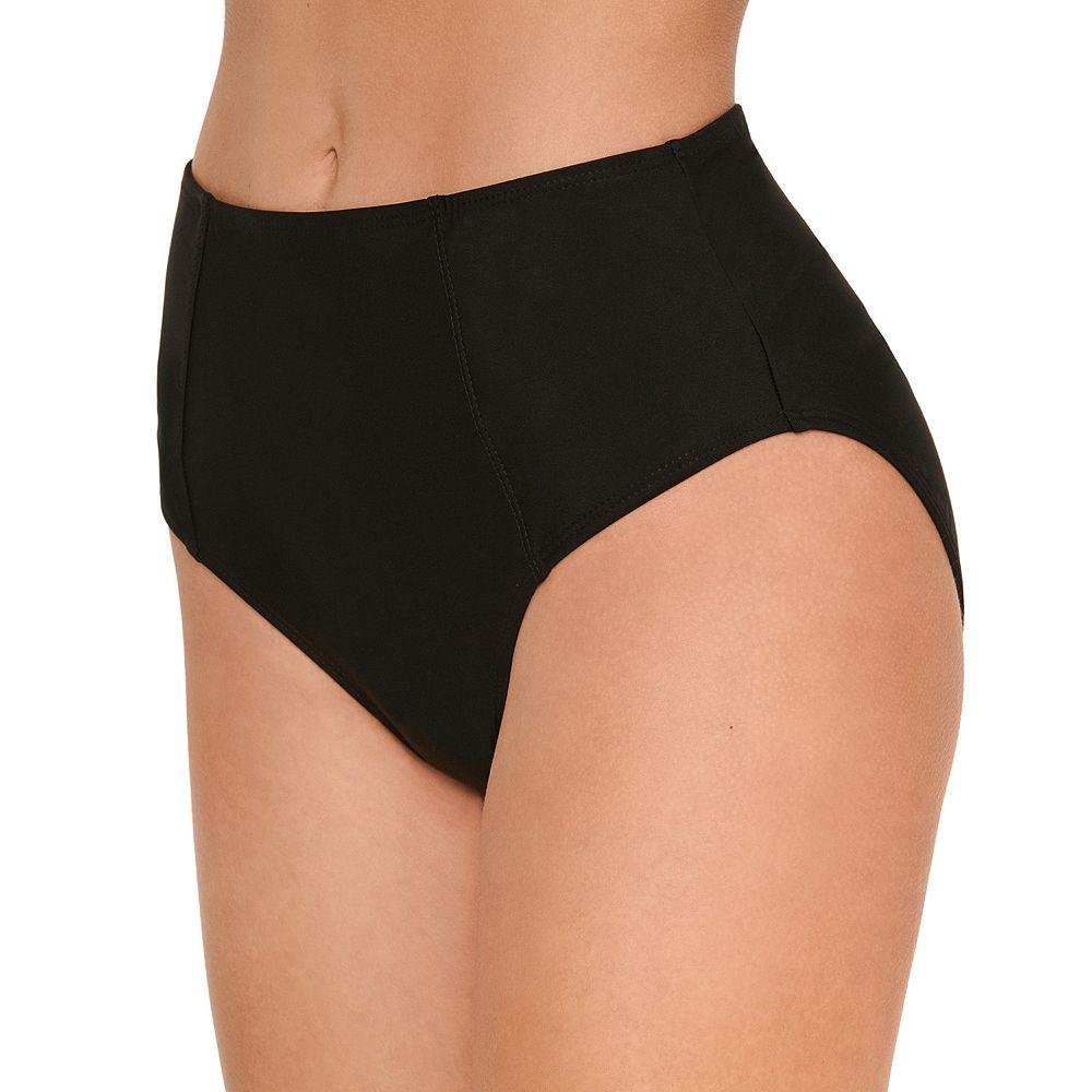 Mix and Match Strappy Back High-Waisted Bikini Bottoms