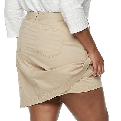 Plus Size Croft & Barrow® Essential Skort