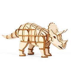 Kikkerland 3D Prehistoric Animal Wooden Puzzle