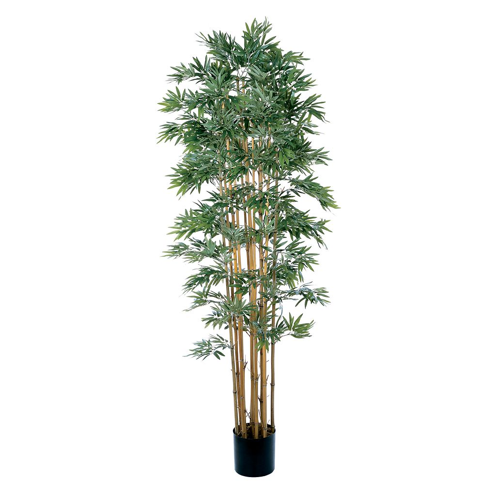 nearly natural 7-ft. Silk Japanica Bamboo Tree