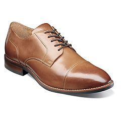 Nunn Bush Fifth Ave Flex Men's Cap Toe Dress Oxfords