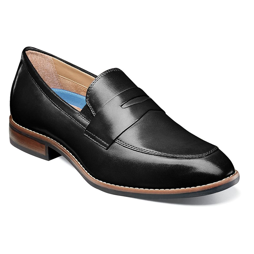 Nunn Bush® Fifth Ave Flex Men's Moc Toe Dress Penny Loafers